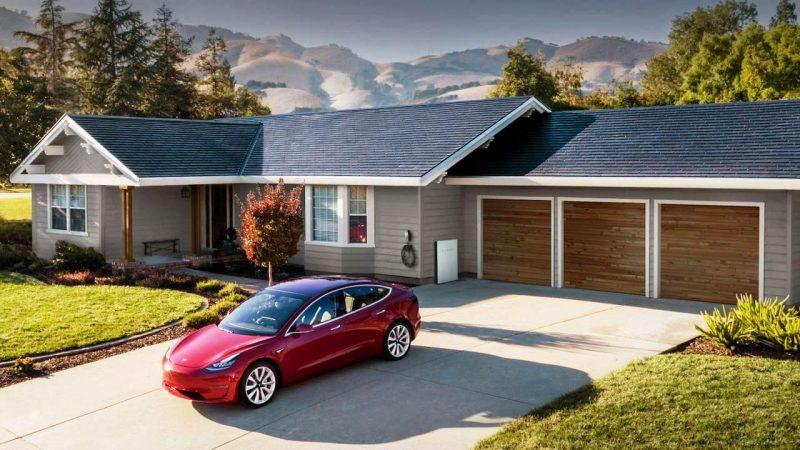 techo solar Tesla